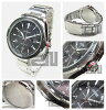CITIZEN (citizen) BM6890-50E EcoDrive / eco-drive solar black dial metal belt watch watches