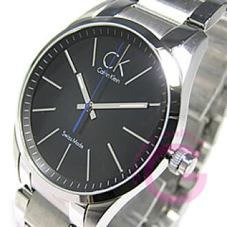 Calvin Klein(CK)粗体字K22411.02/K2241102不锈钢/SS人表手表