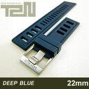 【22MM 130/75】 DEEP BLUE (ディープブルー) HYDRO 91/ハイドロ91 22-H91BL DIVER 天然ゴム ダイバーラダーズスト…