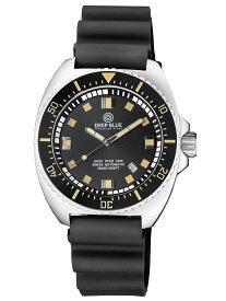 DEEP BLUE(ディープブルー)ダイバーズウォッチ DEEP STAR 1000 VINTAGE SWISS/スイス セリタ製 SW-200 自動巻きムーブメント搭載 30気圧防 ブラックダイアル ビンテージリム dps1000vin 腕時計