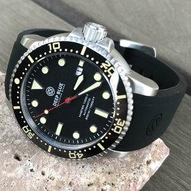 DEEP BLUE(ディープブルー)ダイバーズウォッチ MASTER 1000 II 44MM 30気圧防水 SEIKO 自動巻きムーブメント セラミックべセル サンドストーンダイアル MSTR442SAND 腕時計