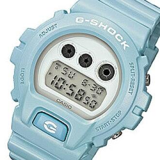 CASIO G-SHOCK(卡西欧G打击)DW-6900SG-2/DW-6900SG-2 Mat Metallic/垫子金属系列淡蓝色人表手表(日本版的型号:DW-6900SG-2JF/DW-6900SG-2JF)