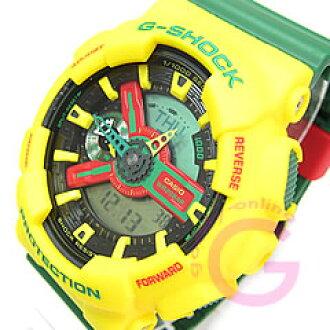 CASIO G-SHOCK(卡西欧G打击)GA-110RF-9A/GA110RF-9A光栅大音阶第四音再安黄色人表手表