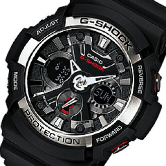 CASIO G-SHOCK(卡西欧G打击)GA-200-1A/GA200-1A anadeji耐磁時計人表手表(日本版的型号:GA-200-1AJF/GA200-1AJF)