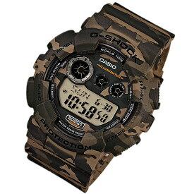 CASIO G-SHOCK カシオ Gショック GD-120CM-5/GD120CM-5 Camouflage Series/カモフラージュシリーズ デジタル マルチタイム ウッドランドカモ メンズ 腕時計 日本版型番:GD-120CM-5JF/GD120CM-5JF