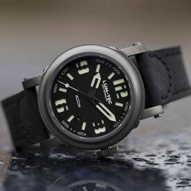 【世界限定ウォッチ】 LUM-TEC/LUMTEC(ルミテック) Abyss 400M-1 400Mシリーズ Miyota 9015自動巻き ムーブメント搭載 チタンカーバイドPVD メンズウォッチ 腕時計