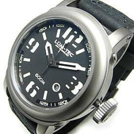 【世界限定生産】 LUM-TEC/LUMTEC(ルミテック) 600M-1 Abyssシリーズ 日本製 Miyota 9015自動巻きムーブメント搭載 600M防水 レザーベルト ブラック 腕時計