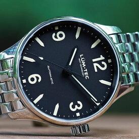 【世界限定ウォッチ】LUM-TEC/LUMTEC(ルミテック) C6 Auto C series/Cシリーズ セイコー製 NH35 自動巻きムーブメント ポリッシュ仕上げ メンズウォッチ 腕時計
