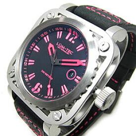 【世界限定生産】 LUM-TEC/LUMTEC(ルミテック) G10 Gシリーズ ロンダクォーツ搭載 レザーベルト ピンク メンズウォッチ 腕時計