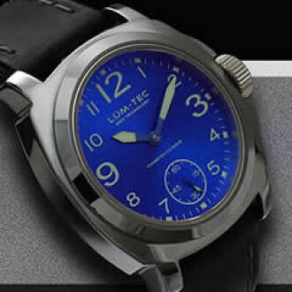 LUM-TEC (Rumtek) M21 M TUNGSTEN/M tungsten hand rolled ETA6498-1 movement with metallic blue watch