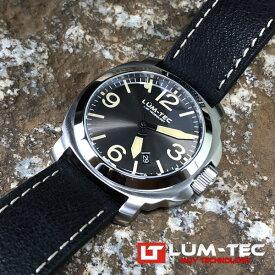 LUM-TEC/LUMTEC (ルミテック) M82 42MMケース 316Lステンレス 自動巻き スイス製 Sellita SW200ムーブメント採用 メンズウォッチ 腕時計