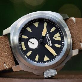 【500本限定生産】 LUM-TEC/LUMTEC ルミテック Mシリーズ M85 Swiss Ronda 6004.D スイス製 クォーツ ムーブメント ZULU/NATOストラップ メンズウォッチ 腕時計
