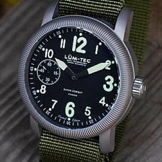 LUM-TEC(Lumi技术)超级市场战斗Super Combat B3 Limited手卷ETA 6497-1运动录用钛情况军事手表