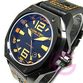 【世界限定】LUM-TEC/LUMTEC(ルミテック) V2 Vシリーズ 自動巻き ETAムーブメント レザーベルト オレンジ メンズウォッチ 腕時計