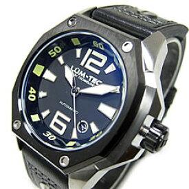 LUM-TEC/LUMTEC(ルミテック) V7 Vシリーズ 自動巻き レザーベルト ツートーン シルバー メンズウォッチ 腕時計