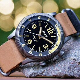 LUM-TEC/LUMTEC ルミテック VORTEX SOLAR D4 ブラック 日本製 ソーラークォーツムーブメント搭載/VS42A movement ミリタリーウォッチ ZULU/NATOストラップ メンズ 腕時計