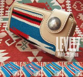 1183a8e8e95e ORTEGA オルテガラグウォレット ブルー ターコイズ系 手縫い ユニセックス 財布 長財布