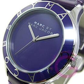 MARC BY MARC JACOBS マーク バイ マークジェイコブス MBM1168 ブレード ラウンド レザーベルト パープル レディース 腕時計 【あす楽対応】