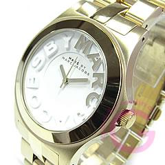 MARC BY MARC JACOBS (マーク バイ マークジェイコブス) MBM3134 Metal Rivera/メタルリベラ ゴールド レディースウォッチ 腕時計 【あす楽対応】