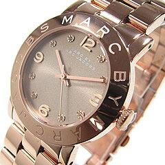MARC BY MARC JACOBS (マーク バイ マークジェイコブス) MBM3221 AmyDexter Glitz/アミー デクスター グリッツ ピンクゴールド レディースウォッチ 腕時計