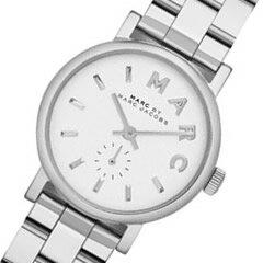MARC BY MARC JACOBS (マーク バイ マークジェイコブス) MBM3246 スモールセコンド シルバー レディースウォッチ 腕時計