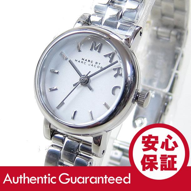 MARC BY MARC JACOBS (マーク バイ マークジェイコブス) MBM3430 メタルベルト ホワイトダイアル シルバー レディースウォッチ 腕時計