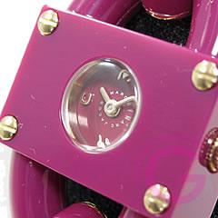 MARC BY MARC JACOBS (マーク バイ マークジェイコブス) MBM4529 Leah Chain/リア チェーン 大人かわいい!ブレスウォッチ マゼンタ レディース 腕時計 【あす楽対応】