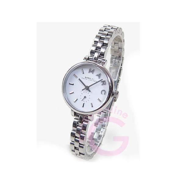 MARC BY MARC JACOBS (マーク バイ マークジェイコブス) MBM8642 スモールセコンド ホワイトダイアル シルバー レディースウォッチ 腕時計
