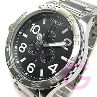 NIXON THE 51-30 ( Nixon フィフティワン thirty ) A083-000/A083000 black chronograph 300 m water resistant watch