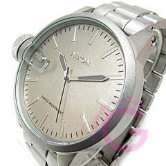 【アウトレット】NIXON ニクソン A198-1033/A1981033 CHRONICLE SS クロニクル 逆リューズ オールロウスティール メンズ 腕時計 【あす楽対応】