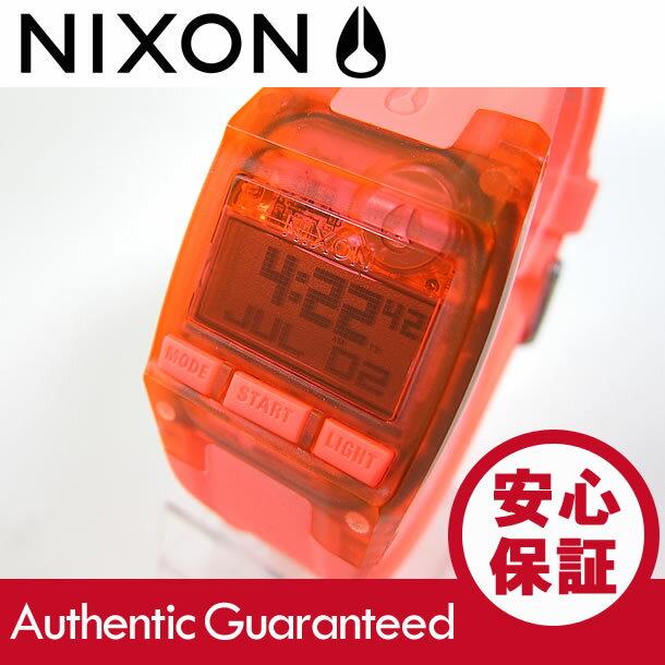 NIXON (ニクソン) A336-2040/A3362040 Comp S/コンプS クロノグラフ ラバーベルト レッド レディースウォッチ 腕時計