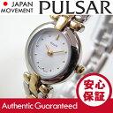 SEIKO PULSAR (セイコー パルサー) PPGC34X ツートーン ブレスレット レディースウォッチ 腕時計【あす楽対応】