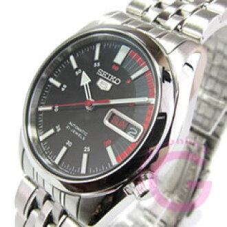 SEIKO5 ( Seiko ) SEIKO / Seiko 5 SNK375J1 automatic self-winding watch black pair model