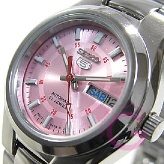 SEIKO (Seiko) SEIKO5 / Seiko 5 SYMC23K1 automatic hand-wound wrapped Pink ladies watch watches