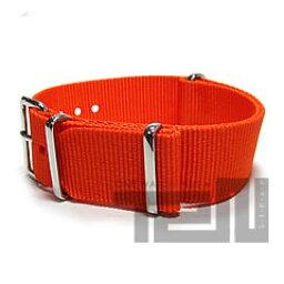 T2N (帶 T2N) CH20NT 4OR 4RING 北約尼龍錶帶帶橙色筆芯皮帶軍用手錶