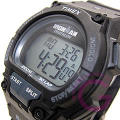 TIMEX(タイメックス) T5K196 IRONMAN/アイアンマン トライアスロン エンデュア ショックレジスタント 30ラップ グレー メンズウォッチ 腕時計