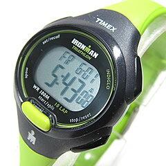 TIMEX (タイメックス) T5K527 IRONMAN 10-LAP/アイアンマン 10ラップ デジタル ラバーベルト ライム レディースウォッチ 腕時計