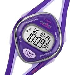 【大特価セール品】【メール便送料無料】Timex (タイメックス) T5K654 IRONMAN 50-LAP/アイアンマン 50ラップ デジタル ラバーベルト パープル レディースウォッチ 腕時計