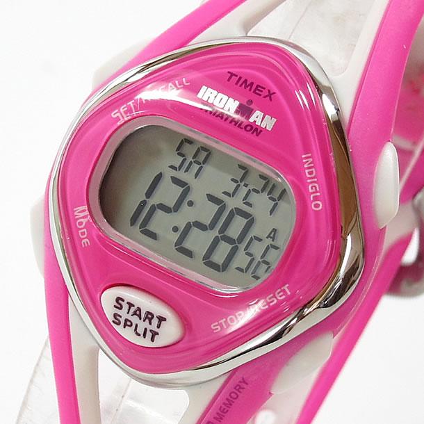 【大特価セール品】【メール便送料無料】Timex (タイメックス) T5K655 IRONMAN 50-LAP/アイアンマン 50ラップ デジタル ラバーベルト ピンク レディースウォッチ 腕時計 【あす楽対応】