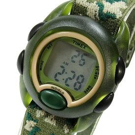 【メール便送料無料】Timex (タイメックス) T719129J IRONKIDS/アイアンキッズ デジタル ナイロンベルト グリーン 迷彩 キッズ・子供にオススメ! かわいい! キッズウォッチ 腕時計