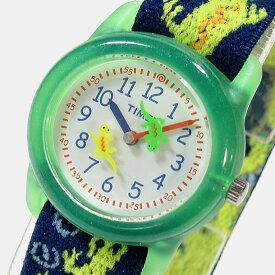 【メール便送料無料】Timex (タイメックス) T728819J TIMEX KIDS/タイメックスキッズ ナイロンベルト グリーン トカゲ キッズ・子供にオススメ! かわいい! キッズウォッチ 腕時計 【あす楽対応】