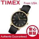 TIMEX (タイメックス) TW2R36400 Metropolitan/メトロポリタン ブラック×ゴールド レザーベルト レディースウォッ…