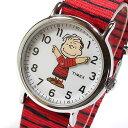 TIMEX タイメックス TW2R41200 Peanuts/ピーナッツ スヌーピー ライナス キッズ 子供にオススメ かわいい ユニセックス 腕時計 【あす楽対応】