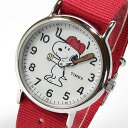 TIMEX (タイメックス) TW2R41400 Peanuts/ピーナッツ スヌーピー キッズ・子供にオススメ! かわいい! ユニセックス 腕時計