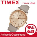 TIMEX (タイメックス) TW2R49500 Metropolitan/メトロポリタン ゴールド×グレー レザーベルト レディースウォッチ…