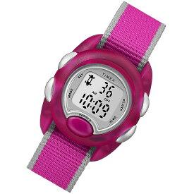 【メール便送料無料】 TIMEX (タイメックス) TW2R9900 Time Machines/タイムマシーン デジタル ナイロンベルト ピンク キッズ・子供にオススメ キッズウォッチ 腕時計