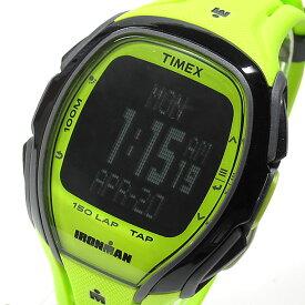 【大特価セール品】TIMEX(タイメックス) TW5M00400 IRONMAN SLEEK 150/アイアンマン スリーク 150ラップ タップスクリーン グリーン メンズウォッチ 腕時計