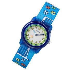 【メール便送料無料】 TIMEX (タイメックス) TW7C16500 TIMEX KIDS/タイメックスキッズ サッカー ブルー キッズ・子供にオススメ! かわいい! キッズウォッチ 腕時計