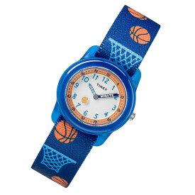 【メール便送料無料】 TIMEX (タイメックス) TW7C16800 TIMEX KIDS/タイメックスキッズ バスケット ブルー キッズ・子供にオススメ! かわいい! キッズウォッチ 腕時計