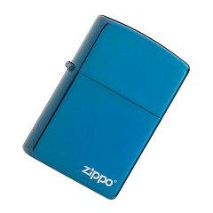 ZIPPO(ジッポー)20446ZLSapphireBlue/サファイアブルーZIPPOロゴFULLSIZEZIPPOLIGHTER/ジッポライター【楽ギフ_包装選択】